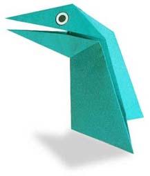 折り紙 恐竜 簡単